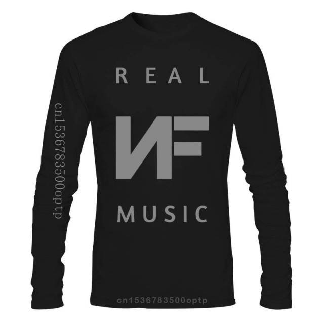 Long sleeve NF REAL MUSIC T-Shirt  1