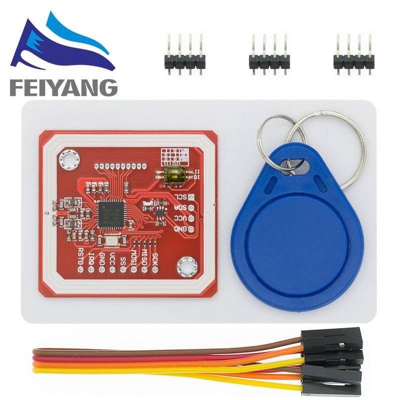 1 компл. PN532 NFC RFID беспроводной модуль V3 пользовательские комплекты писатель режим IC S50 карты PCB аттенна IEC IIC SPI HSU