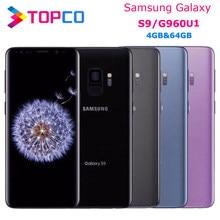 Samsung galaxy celular s9 g960u g960u1, telefone android original 4g lte snapdragon 845 octa core 5.8