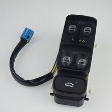Interruptor de ventanilla de Control de potencia para Mercedes Benz Clase C W203 C180 C200 C220, A2098203410 A2038200110