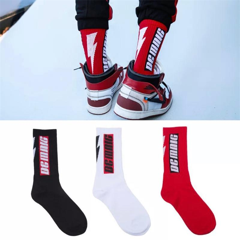New Fashion Harajuku Men's Socks Long Section Cotton Hip Hop Vool Funny Skateboard Socks PersPnality Casual Men's Socks