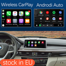 Interfaz inalámbrica Apple Carplay con MirrorLink para BMW, kit de enlace inalámbrico con Android Auto, con función de reproducción, para BMW X5 F15 X6 F16 2014-2016 X1 F48 2016-2017