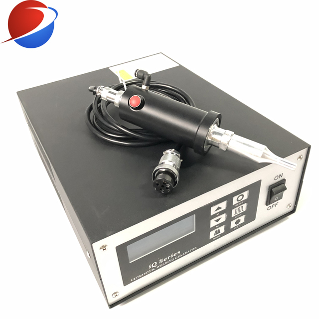 N95 Cup Mask Ear Strap Spot Welding Machine Ultrasonic Welding Equipment Transducer And Generator 35K 800W 4