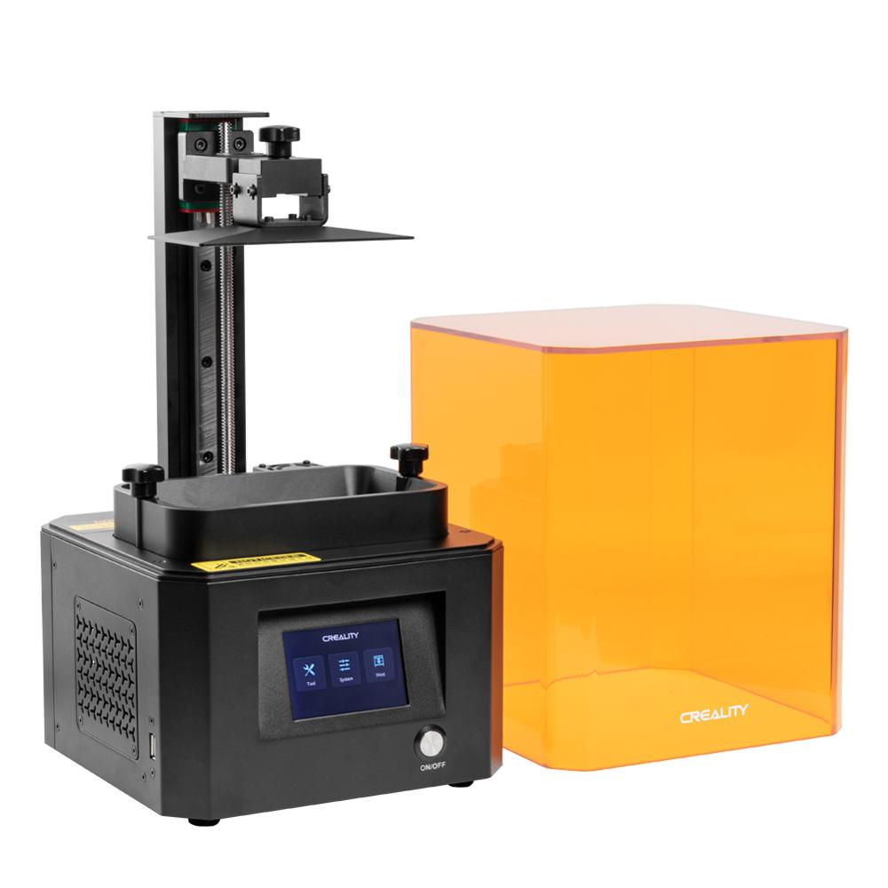 cheapest CREALITY 3D Printer LD-002R UV Resin 3D Printer LCD Photocuring Ball Linear Rails Air Filtration System Off-line Printing
