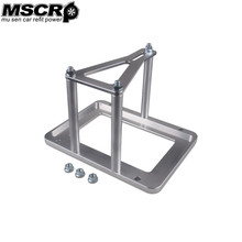 Universal Billet Battery Tray Hold Down / Trunk Relocation Box heavy duty