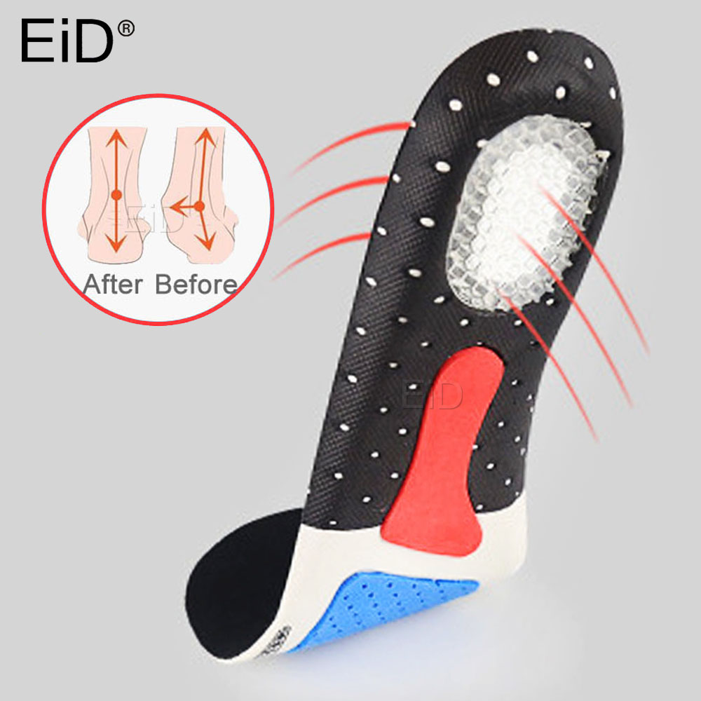 Sport Silicone Gel Shoes Pad Arch Support Thickening Shock Absorption Basketball Football Shoes Pad Silicone Soft Insole Unisex