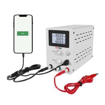 Regulador de voltaje de fuente de alimentación CC de laboratorio ajustable de energía 220 v 110v estabilizador de corriente mini fuente de alimentación 3/4 digital 30v 10a