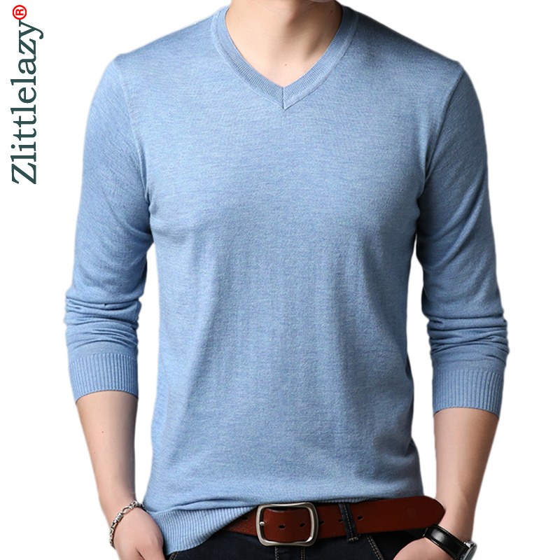 2019 New Casual Thin Striped Knitted Solid Pull Sweater Men Wear Jersey Mensluxury Pullover Mens Sweaters Male Fashions 93051
