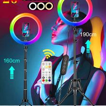 RGB Ring Light-Tripod Stand LED Selfie Orsda Youtube 26-Colors Tik Tok 10inch with Video-Light