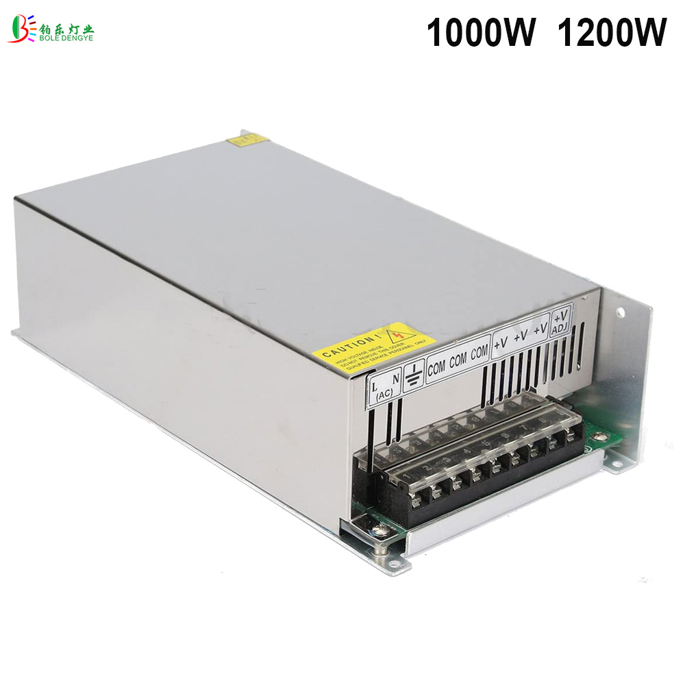 1000W 1200W 1500W Power Supply Transformer PSU DC24V 12V 36V 48V 60V Driver For LED Strip CCTV Computer Project Radio Printer