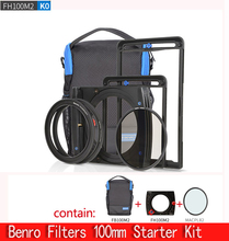 Benro FH 100 M2K0 100mm System Filter kit/FH 100 M2 filter halter + cpl + tasche Set