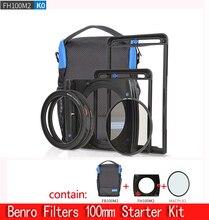 Benro FH100M2K0 kit de Filtros de sistema de 100mm, soporte de filtro FH100M2, cpl y juego de bolsas