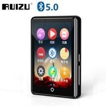 Nouveau métal Ruizu M7 plein écran tactile Bluetooth lecteur MP3 8GB 16GB HIFI lecteur de musique avec Radio FM E Book vidéo haut parleur intégré