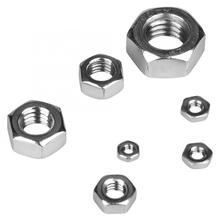 140pcs Stainless Steel Square Nuts M2/M2.5/M3/M4/M5/M6/M8 Thread Stainless Steel Hex Hexagonal Nuts Wood Screw And Nut whole thread m2 m3 m4 m5 m8 washers m3 m4 m5 m8 pressure nylon parlock nuts m3 m4 m5 m8 nuts m8