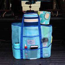 Новейшая сумка для плавания Женская сетчатая пляжная без песка