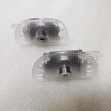 YY ل W220 R230 W215 ترحيب مصباح إضاءة سيارة ليد الباب شعار مصباح ل S Class W220 ل SL Class R230 ل CL Class W215