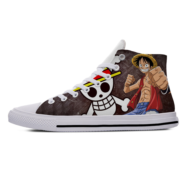ONE PIECE THEMED HIGH TOP SHOES (5 VARIAN)