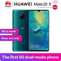 Huawei Mate 20x 5g 7.2OLED Full Screen Kirin980 Balong5000 Support NFC 8G 256G Super Charge 4200mAh 4cameras Face+FingerprintID