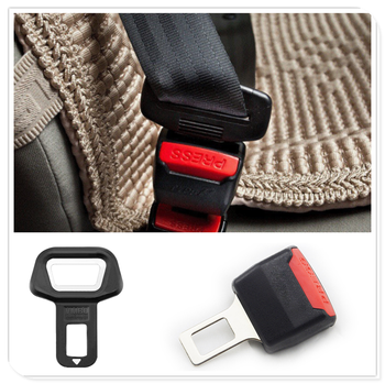 Car Seat Belt Clip Extender Safety Buckle Bottle Openers for Audi Q3 Q5 SQ5 Q7 A1 A3 A4 A4L A5 A6 A6L A7 A8 S5 S6 S7 image