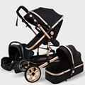 Cochecito de bebé de lujo alta Landview 3 en 1 cochecito de bebé portátil cochecito de bebé comodidad para recién nacido