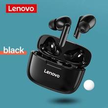 Lenovo XT90 TWS Bluetooth 5.0 słuchawki bezprzewodowe słuchawki sportowe słuchawki dotykowy przycisk IPX5 wodoodporny zestaw słuchawkowy z mikrofonem