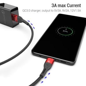 Image 3 - Pzoz磁気ケーブルマイクロusb c高速充電アダプタマイクロusbタイプcマグネット充電器タイプcケーブルiphoneサムスンxiaomiコード