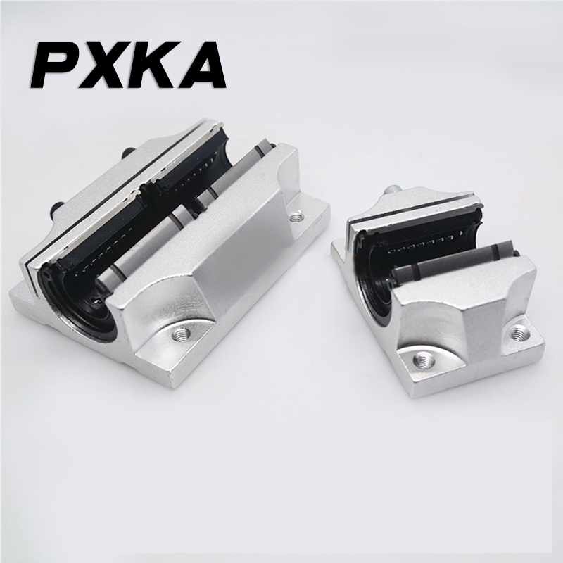 Free Shipping High Quality TBR Linear Opening And Long Slide Bearing TBR16 20 25 30UU/LUU Flange Sliding Unit Box Slider