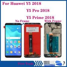 Оригинальный дисплей для huawei y5 2018 ЖК сенсорный экран дигитайзер