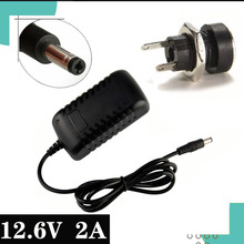 Charger Power-Adapter Lithium-Battery DC 2A for Led-Indicator Eu/Us-Plug