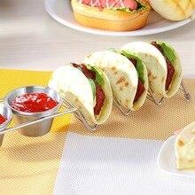 купить Stainless Steel Pancake Rack For Kitchen Multi-purpose Wave Shape Food Rack  Cookie Stand Tools For Restaurants дешево