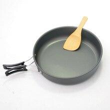 Наружная портативная сковорода маленькая сковорода посуда для пикника кемпинга антипригарная сковорода для готовки посуда