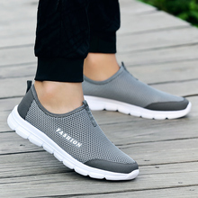 New Summer Breathable Comfortable Mesh Male Running Shoes Lo