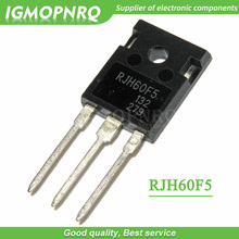 лучшая цена 5PCS free shipping RJH60F5DPQ RJH60F5 N Channel IGBT High Speed Power Switching TO-247 80A600V 100% new original