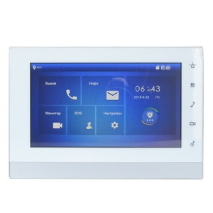 Image 3 - DH Multi Language VTH1550CHW 2 S1 2 wire Indoor Monitor,IP doorbell monitor,Video Intercom monitor,wired doorbell monitor