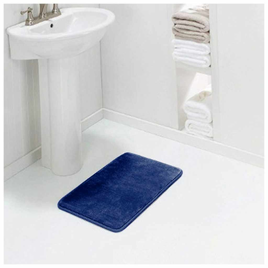 1Pc Bad Memory-schaum Bad Matte Teppich Teppich Non-slip Stark Saugfähigen Schlafzimmer Matte küche Fußmatte Maschine Waschbar dusche Teppich