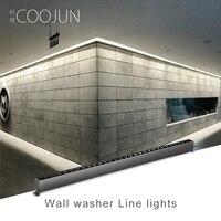 COOJUN linear bar spotlight LED Indoor wall washer luminous decoration hotel engineering villa commercial line strip light 220V