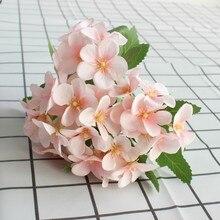 23cm Artificial Small Apple flowers Imitation Flowers Family wedding decoration Silk simulation Flowers bedding set family сайлид b red flowers