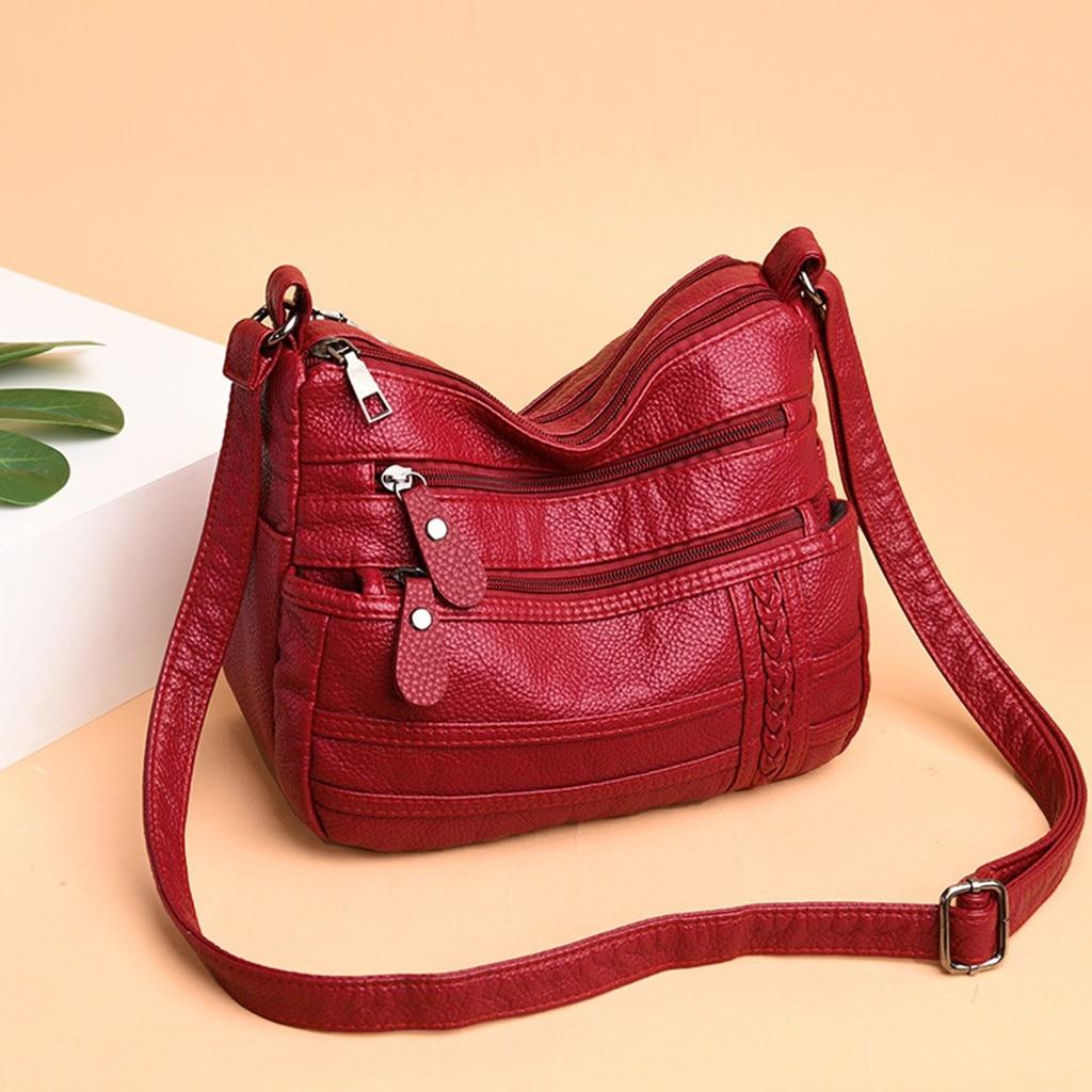 2019 New Women's Bag Wild Fashion Multi-Layer Casual Messenger Bag Bags For Women 2019 Uxury Handbags Women Bag