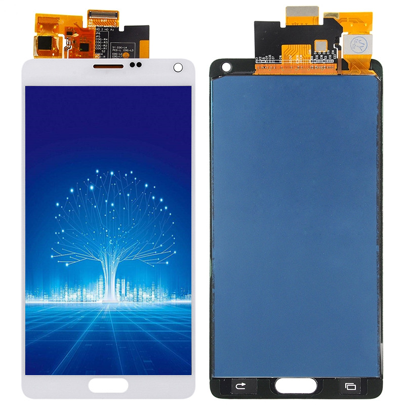 5,7 inch <font><b>LCD</b></font> Für Samsung <font><b>Galaxy</b></font> Note 4 <font><b>LCD</b></font> <font><b>Note4</b></font> N910 SM-N910A N910F N910H <font><b>LCD</b></font> Display mit Touch <font><b>Screen</b></font> Digitizer montage Teil image