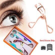 4Pcs Eyelash Curler Set False Eyelashes Tweezers Lady Lash N
