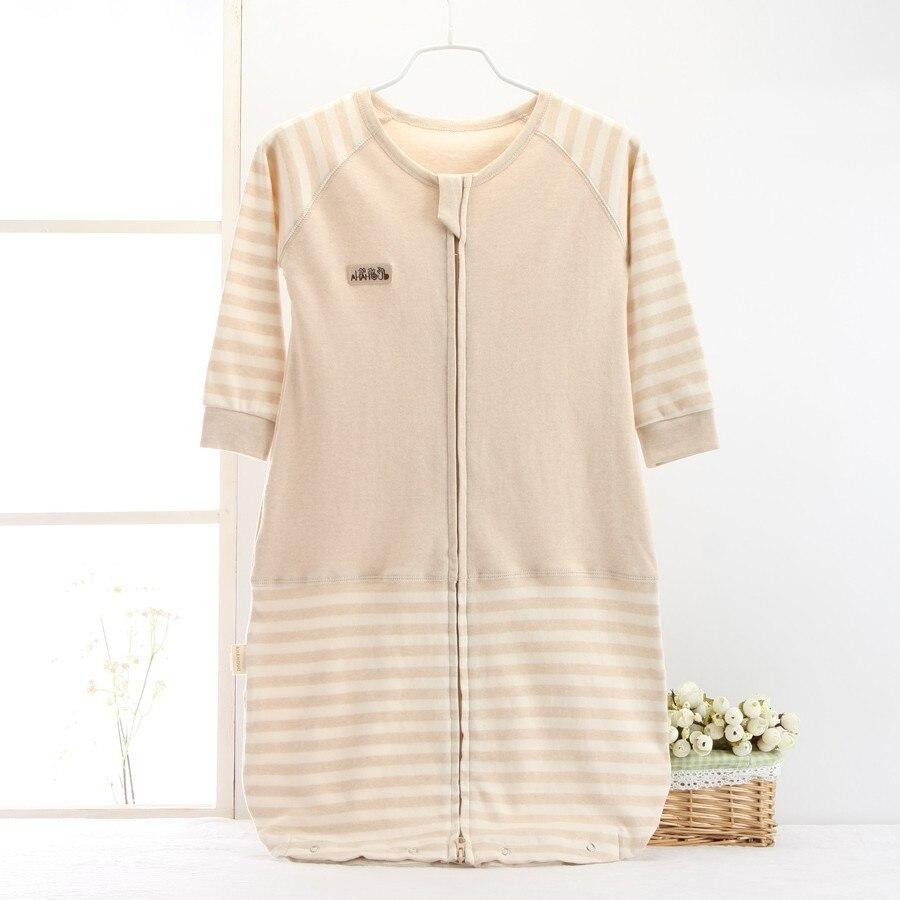 Baby Sleeping Bag Cute Sleep Sack For Newborn Soft Cotton Infant Clothes Style SleepSack Kids Sleeve Romper Children Gown Sleep