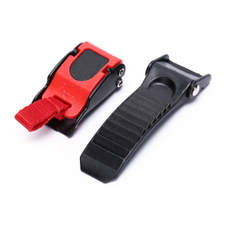 qiuxiaoaa Motor Bike Helmet Chin Strap Speed Sewing Clip 9 Gear Quick Release Buckle Hot Side Mirror//Accessories Black+Red