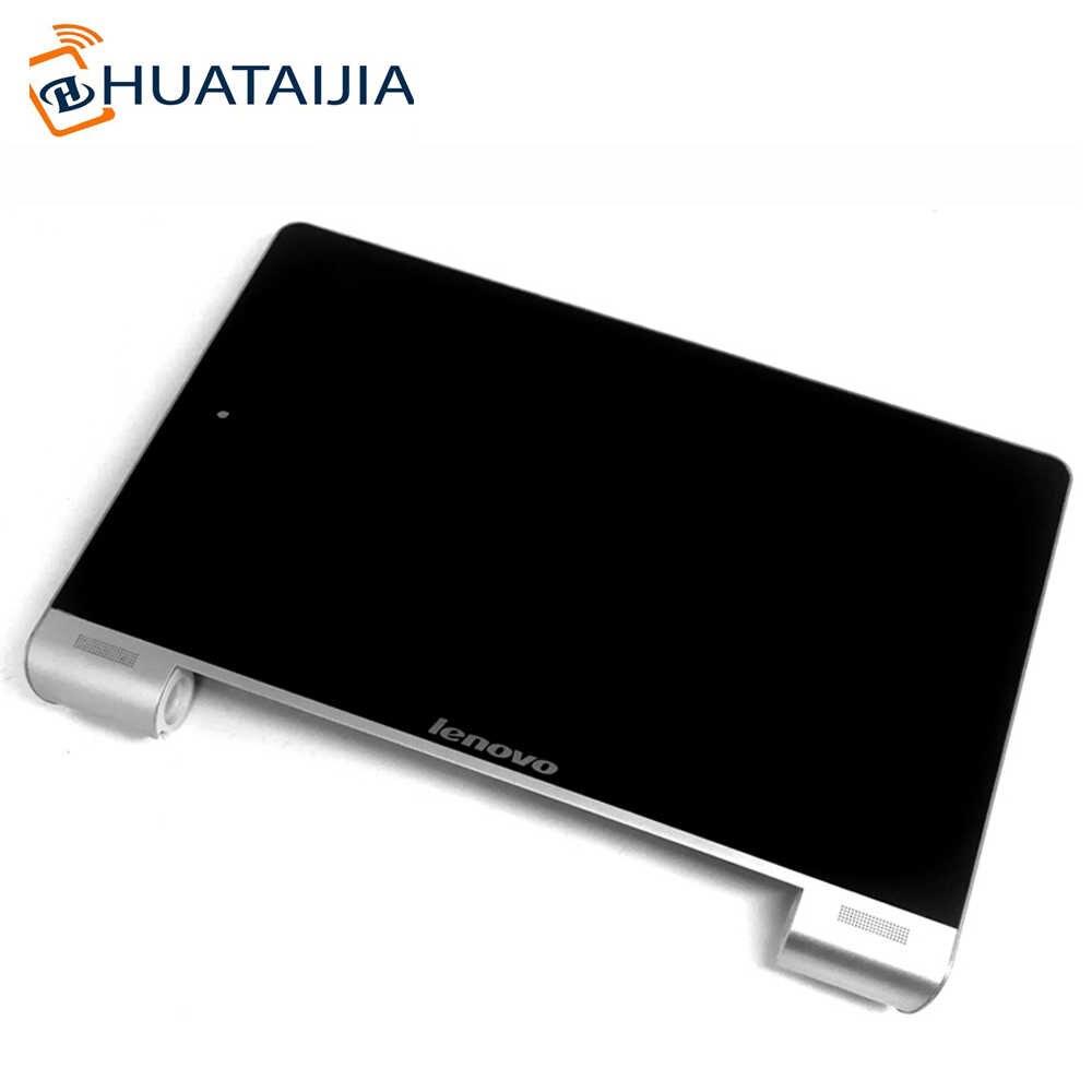 8 LCD ve çerçeve ile dokunmatik ekran Lenovo Yoga Tablet 8 B6000-h 60044 Z0AG B6000-HV 60045 Z0AH ekran Digitizer montaj