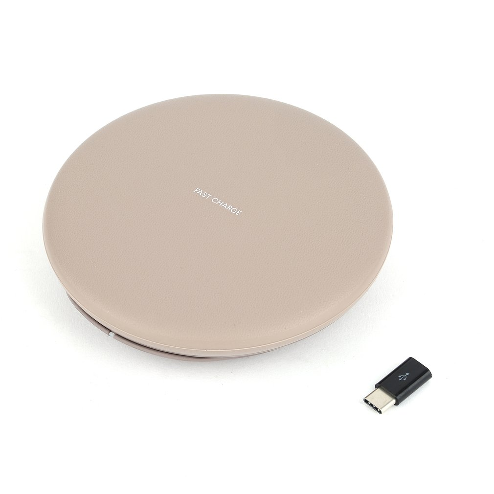 Foldable Wireless Charger Base For Mobile Phone Stand Desktop Quick Fast Charge 9V Portable Charge Holder Charging Device