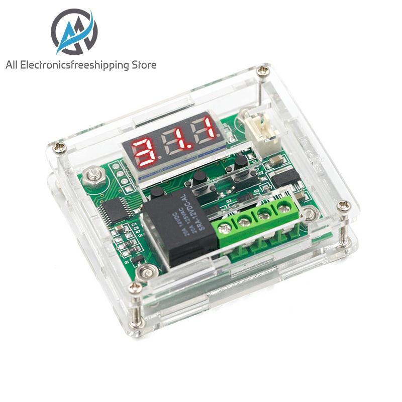 W1209 DC 12V Heat Cool Temp Thermostat Temperature Control Switch Temperature Controller Thermometer Thermo Controller
