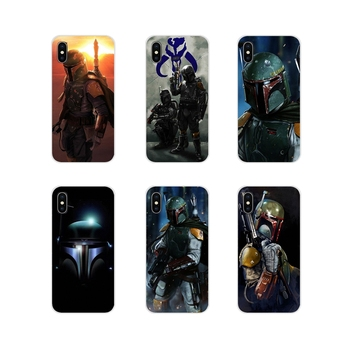 For Samsung A10 A30 A40 A50 A60 A70 M30 Galaxy Note 2 3 4 5 8 9 10 PLUS Boba Fett render Accessories Phone Shell Covers image