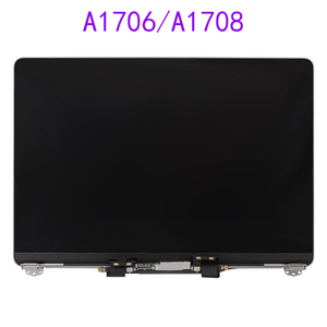 Laptop Suitable for Macbook Pro Retina 13-Inch A1706 LCD Assembly A1708 Screen Full Display Gray Silver 2016 2017 Year