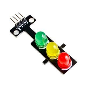 Led Traffic Light Module 5V Traffic Light Lighting Module Digital Signal Output Ordinary Brightness 3 Light Separate Control