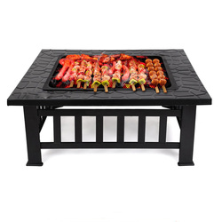 Barbecue rack Home Outdoor Charcoal Carbon Grill Carbon Fire Garden Grill Table Large Size Multifunction carbon BBQ grill stove