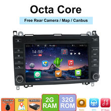 2 Din Car DVD GPS Radio For Mercedes Benz Sprinter B200 W209 W169 W169 B-class W245 B170 Vito W639 Wifi SWC DAB TV 4G/3G(China)